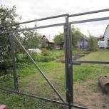 Распашные ворота, сварочные работы, Екатеринбург