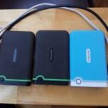 Противоударный внешний USB диск Transcend 1 Tb, Екатеринбург