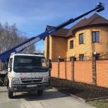 Аренда телескопической автовышки 22-45 метров.Быстрая подача, Екатеринбург
