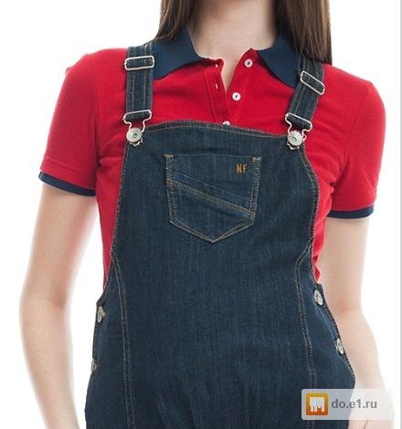 Продам джинсовый сарафан для беременных New Form б у фото, Цена ... 86ef5a37fd5