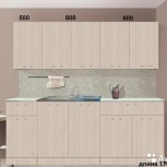 Новая Кухня, модель Фиджи-2 длина 1700мм, Екатеринбург