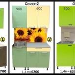 Новая кухня - отдельными предметами, Екатеринбург