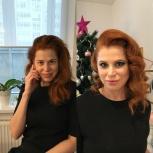 Прическа+макияж, Екатеринбург
