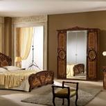 Модульная спальня Роза орех Комплект с 4-х дверным шкафом (Авт), Екатеринбург