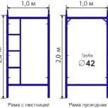 Строительные рамные леса ЛСПР-200, Екатеринбург