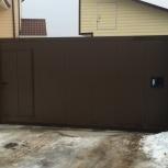 Откатные ворота серии собери сам от завода DoorHan Alutech, Екатеринбург