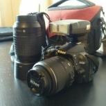 Nikon d3100 с двумя объективами+вспышка, Екатеринбург