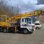 Аренда японского автокрана 5 тонн стрела 22м, Екатеринбург