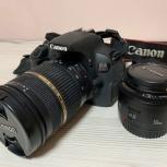 Canon 650d с двумя объективами, Екатеринбург