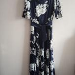 Шелковое платье 52 размера., Екатеринбург