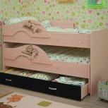 Кровать двухъярусная выкатная Матрешка Сафари Венге (ТМК), Екатеринбург