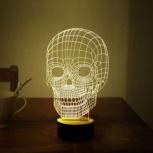 3d лампа, железный человек, спирали, череп, Екатеринбург