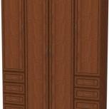 Шкаф для белья со штангой, полками и ящиками  Арт. 112 (Гарун), Екатеринбург