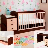 Детская кровать-трансформер Антошка-2 (Мр), Екатеринбург