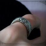 Мужское кольцо волки Старков оригинальное украшение, Екатеринбург