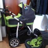 Продам коляску Verdi Max 3 в 1  подходит для крупного ребенка, Екатеринбург