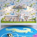 Детская кровать Сонечка с задней защитой, Екатеринбург
