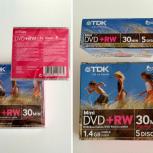 Диск mini-DVD+RW TDK 1.4Gb (для видеокамер), Екатеринбург