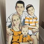 Семейный портрет по фото!, Екатеринбург