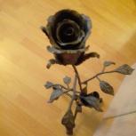 Продам кованную розу в подставке, Екатеринбург