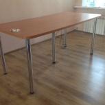 Стол для раскроя 90.5 см х 100.5 см х 200.0 см новый с пилотом на 5шт, Екатеринбург