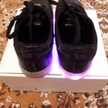 Кроссовки на светящейся подошве  размер 39, Екатеринбург