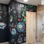 Роспись стен в интерьере и фасадов в Екб и области, Екатеринбург