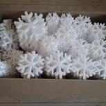 Набор снежинок из пенопласта, Екатеринбург