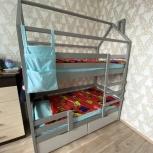Продается двухъярусная кровать-домик, Екатеринбург