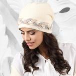 Вязаный комплект шапка+шарф garda kamea, Екатеринбург