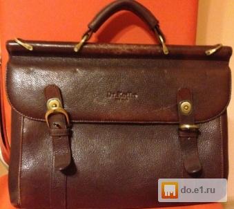 759a4473a665 Мужской кожаный портфель dr. Koffer б/у фото, Цена - 4000.00 руб ...
