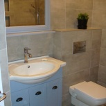 Ремонт в ванной комнате и укладка плитки, Екатеринбург