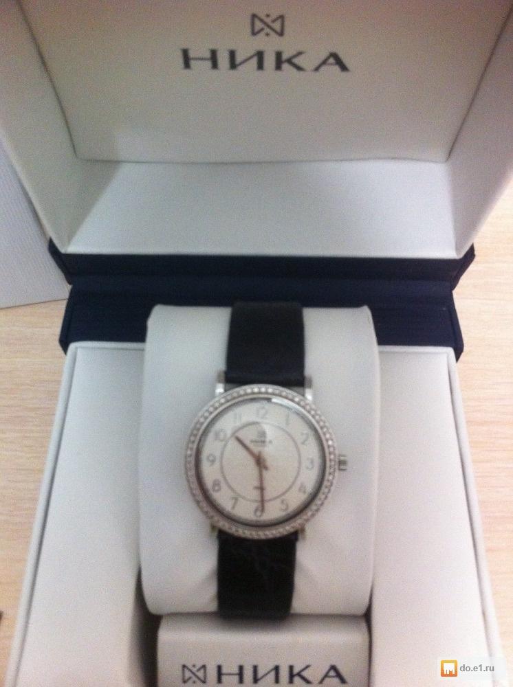 99ccfb94 Часы Ника женские (белое золото с вставками из безцветных фианитов ...