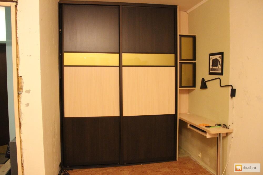 умолкая, делится фото встроенных шкафов купе со столом защищает