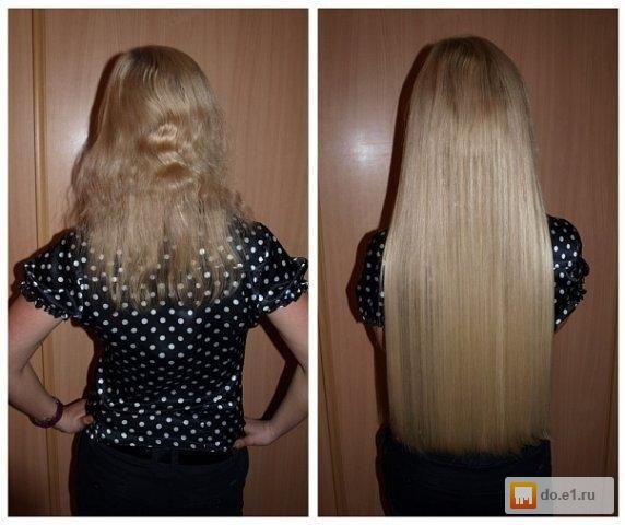 Наращивание волос ярославль отзывы