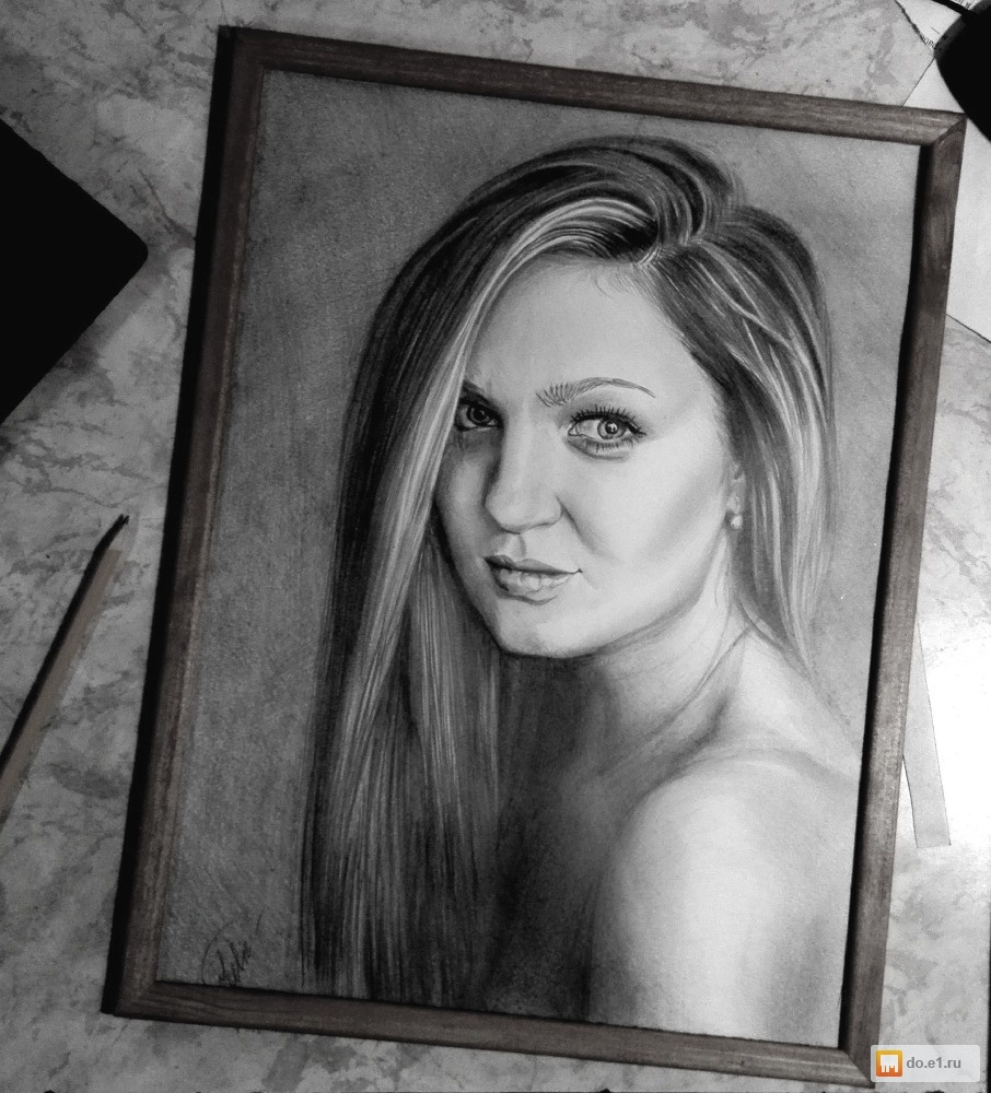 мастер портрет карандашом класс фотографии по