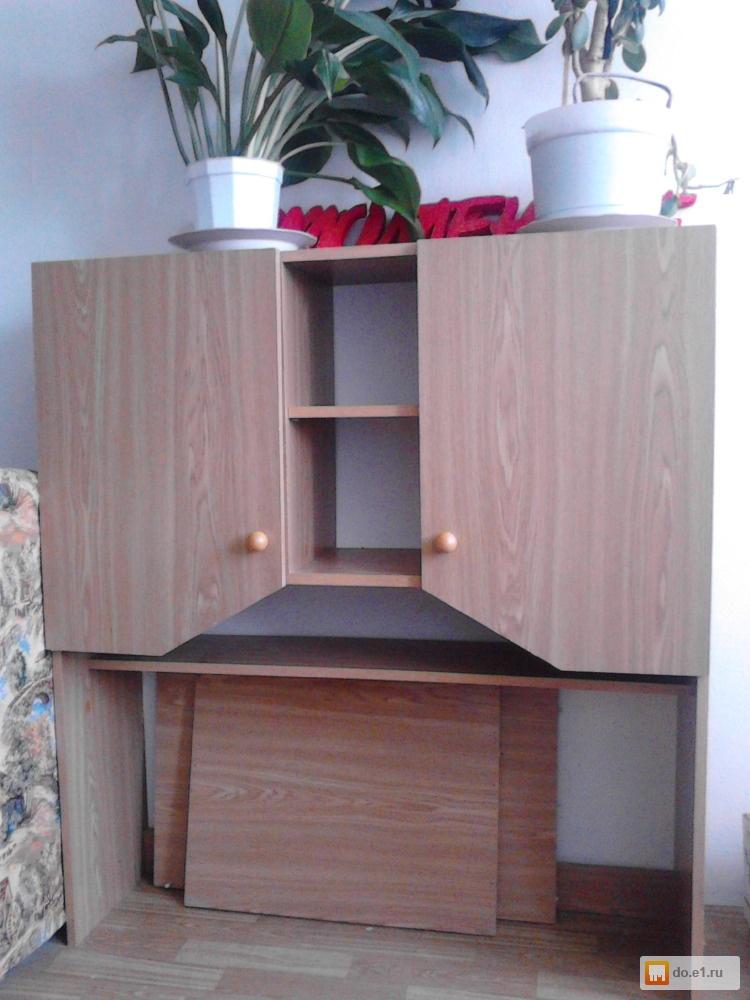 Шкаф, письменный стол, кровать б/у, фото. цена - договорная..
