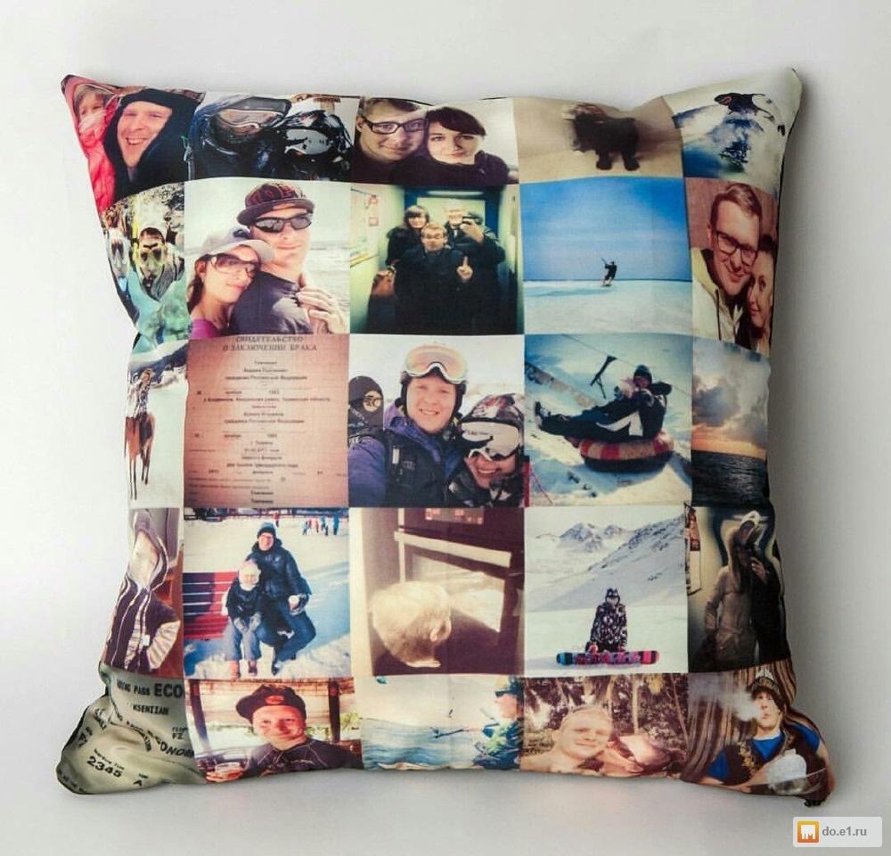 Подушки с фото на заказ в спб