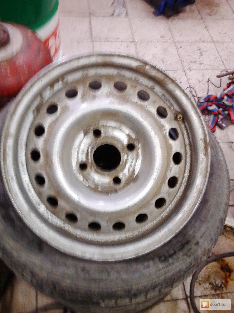фото шевроле штампованные диски авео
