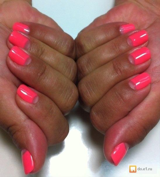 Профессиональное покрытие ногтей гель лаком