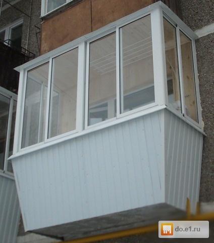 Остекление балкона . цена - 1000.00 руб., екатеринбург - e1..