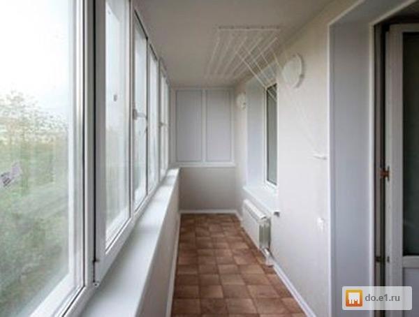 Отделка балконов и лоджий под ключ . цена - 500.00 руб., ека.