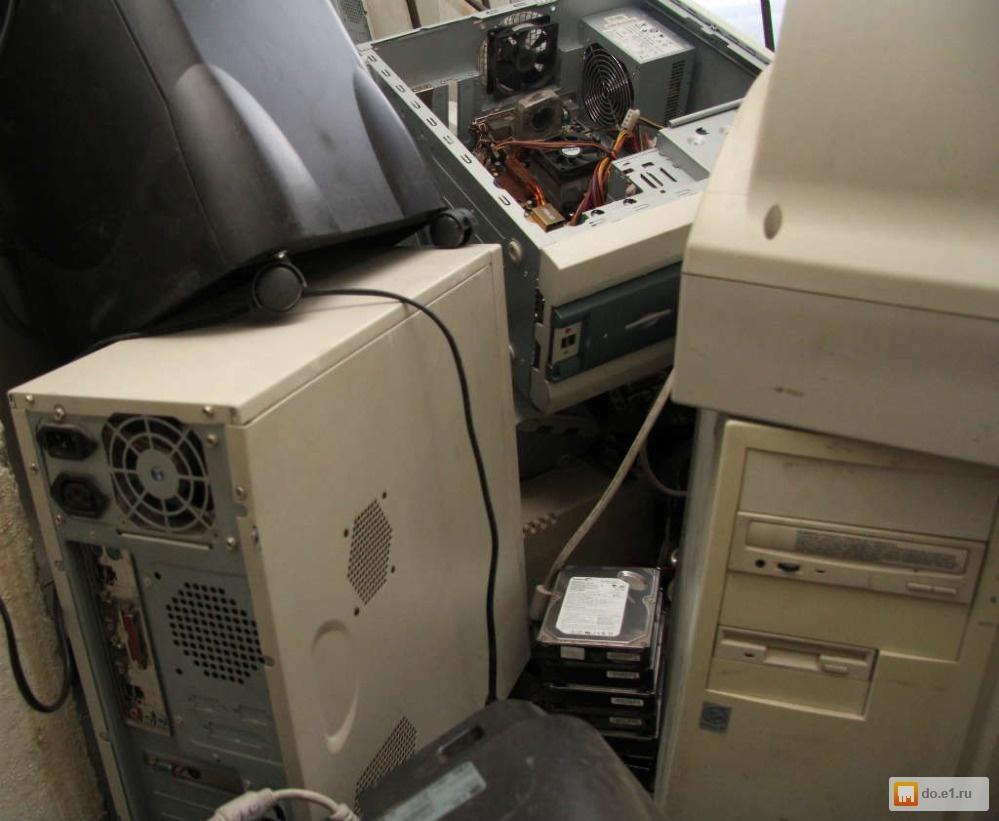 куда выкинуть старый монитор