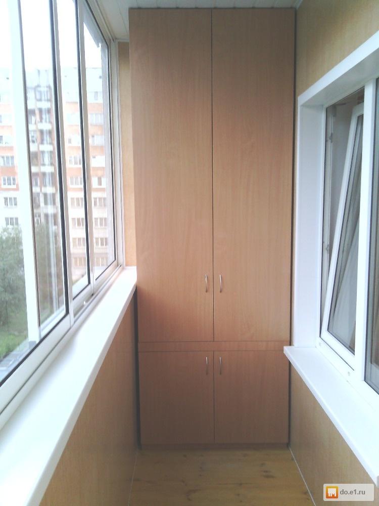 Угловой шкаф на лоджию и встроенный, какой лучше? какая подх.