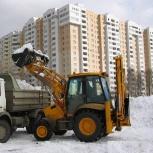 Вывоз и уборка Снега,вывоз мусора. Камаз самосвал и трактор JCB, Екатеринбург