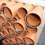 ПВХ трубы для наружной и внутренней канализации, Екатеринбург