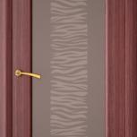 Межкомнатная шпонированная дверь со стеклом. Марсель шт, Екатеринбург