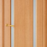 Межкомнатная шпонированная дверь со стеклом. Мадрид шт, Екатеринбург