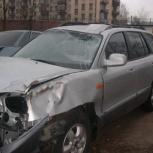 Хендай Санта Фе классик   запчасти с аварийного авто, Екатеринбург