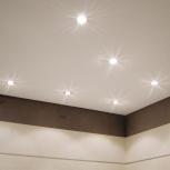 Натяжные потолоки. Пленка ПВХ. Лак, мат белый (м.кв.), Екатеринбург